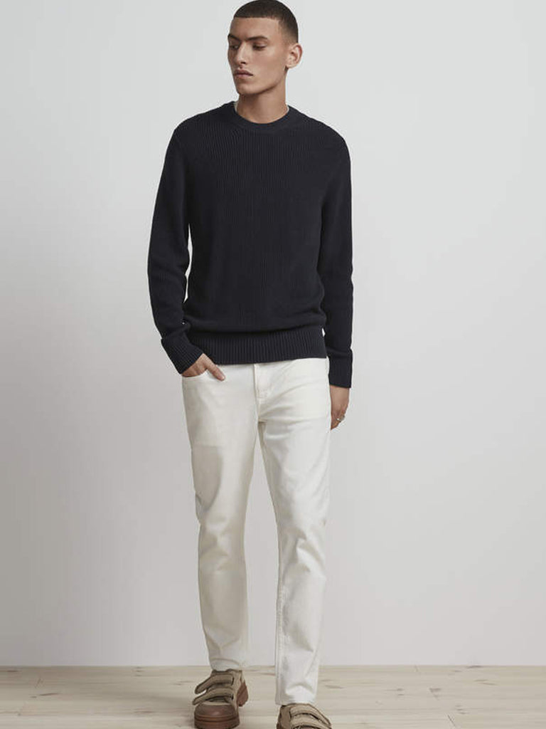 NN07 Knut Sweater in Navy