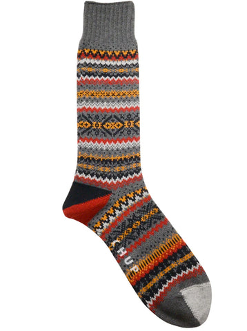 Chup Snjor Socks in Steel Grey