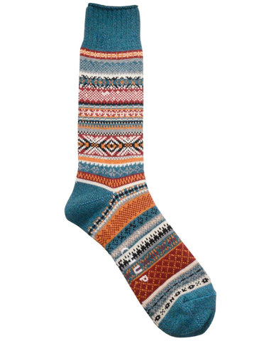 Chup  Aistear Socks in Teal