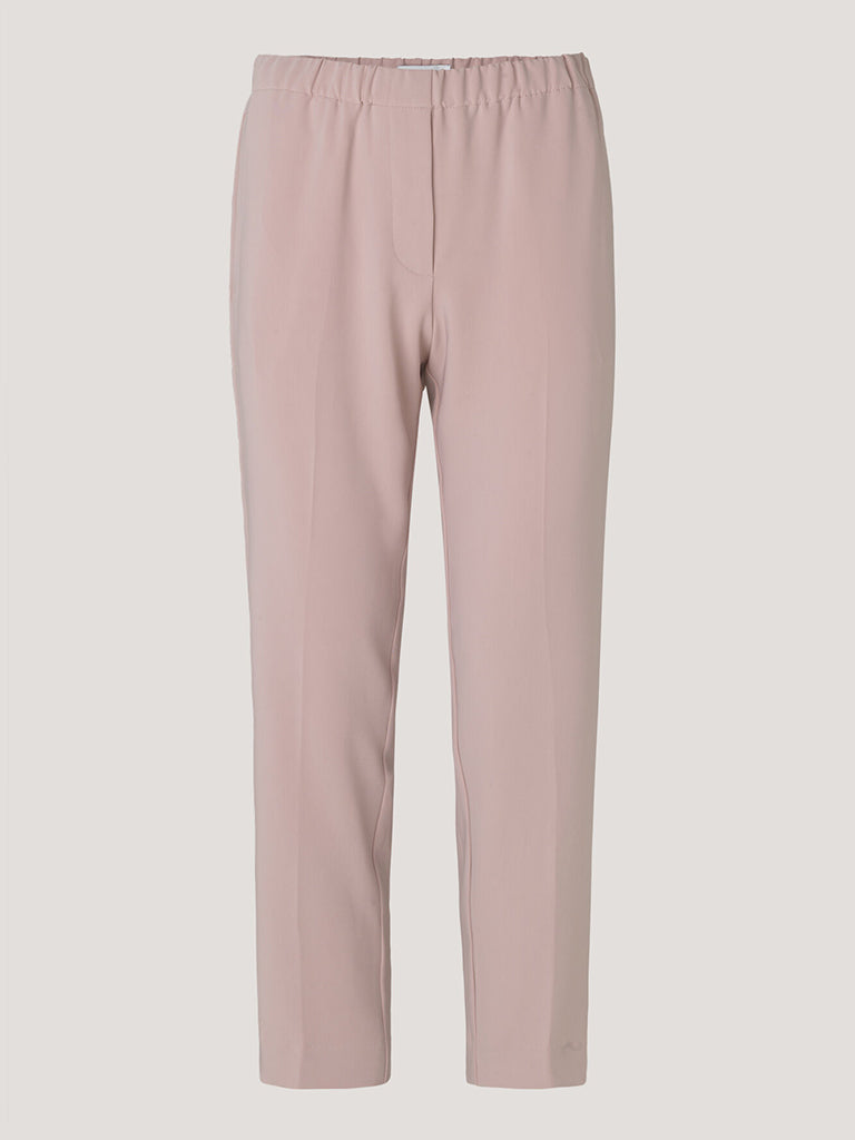Samsoe & Samsoe Hoysa Crop Trouser in Pale Mauve