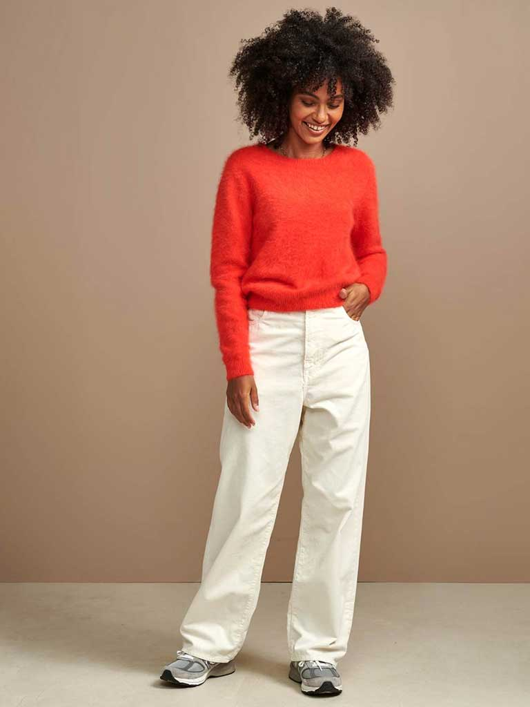 Bellerose Datti Knit in Tangerine