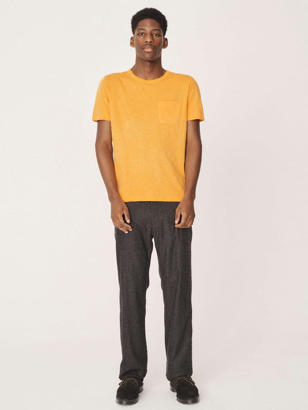 YMC Wild Ones T-Shirt in Yellow
