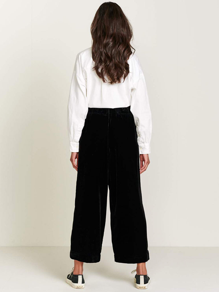 Bellerose Hawke Trousers in Black Blue