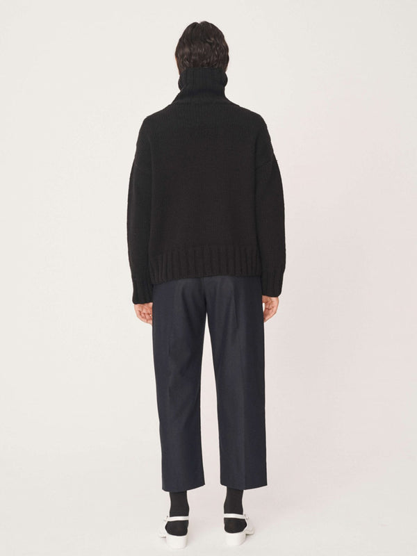 YMC Zetland Knit in Multi Black