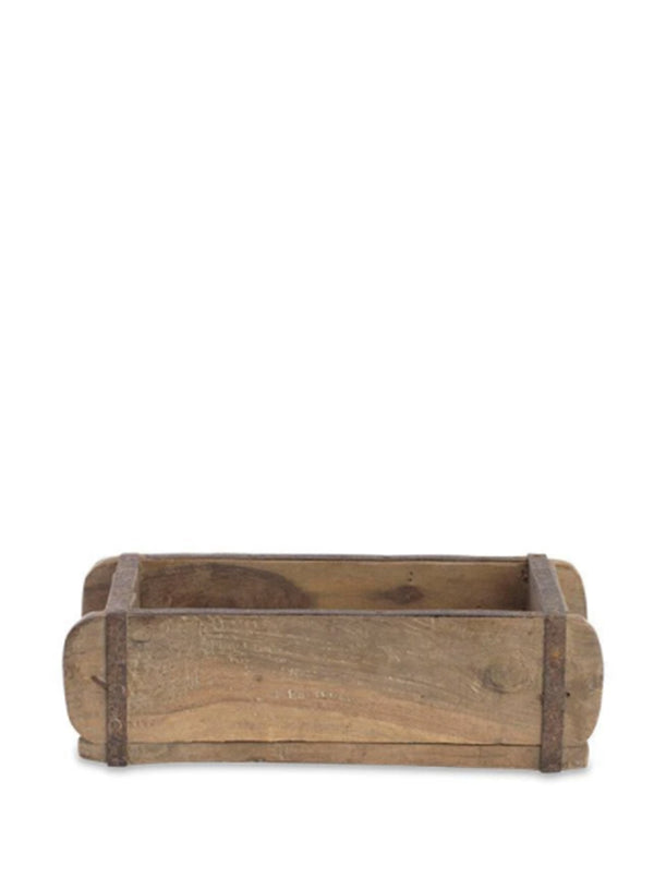 Nkuku Reclaimed Brick Box in Wood