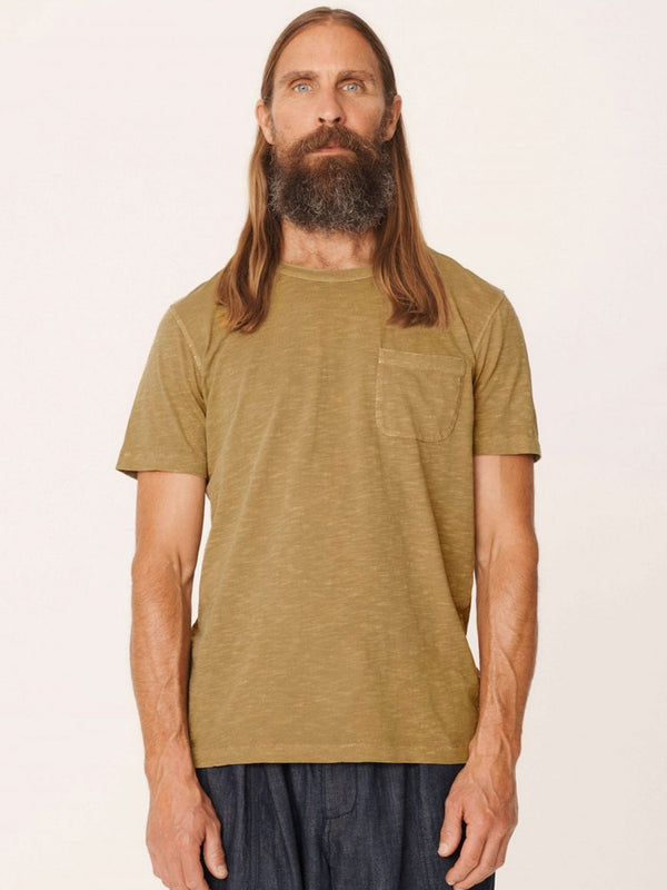 YMC Wild Ones T-Shirt in Olive