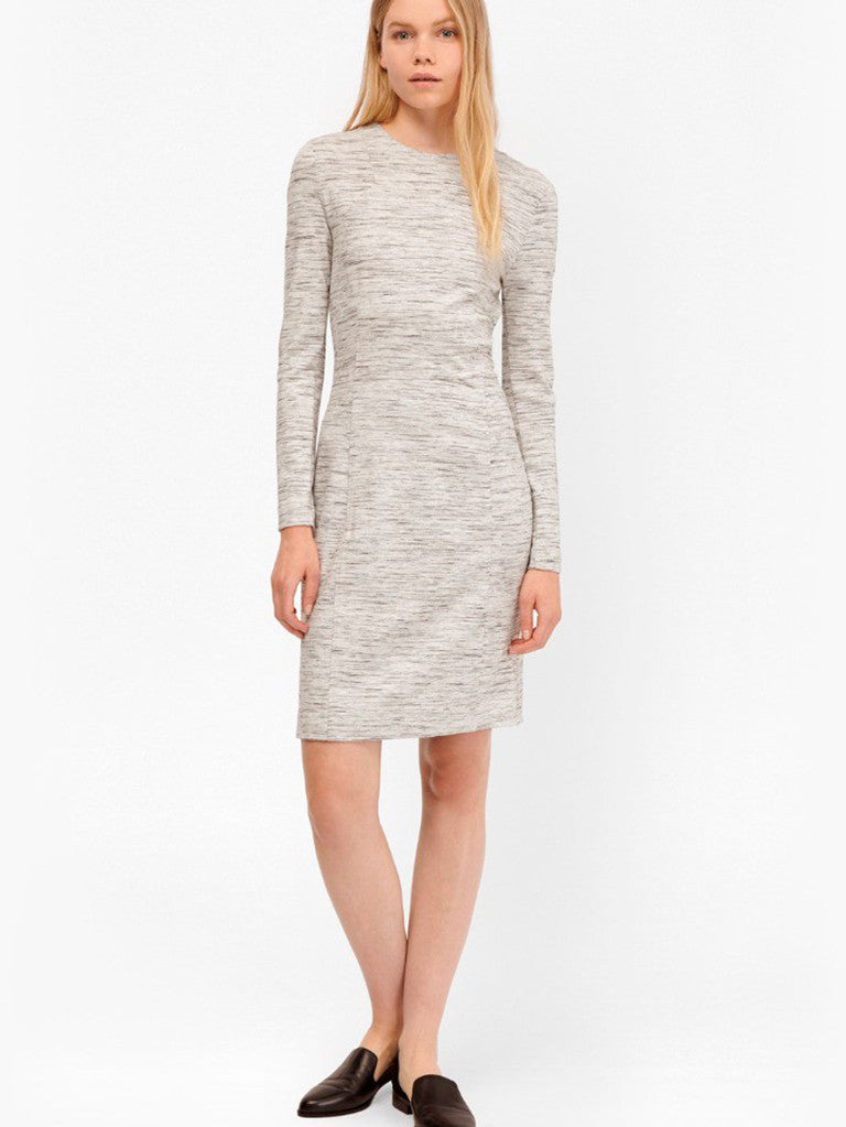 French Connection Lula Dress in Heather Grey