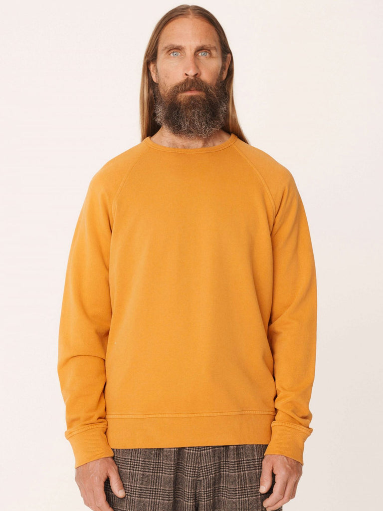 YMC Schrank Raglan Sweatshirt in Yellow