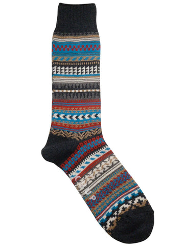 Chup Butte Socks in Anchor