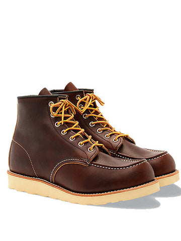 Redwing 8138 Moc Toe Boot in Brown