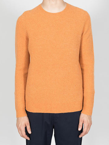 Folk Signal Knit in Orange