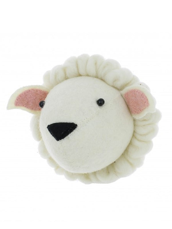 Fiona walker Mini Sheep  Head in White
