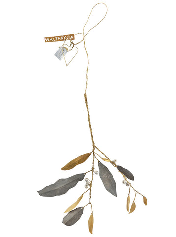 Walther & Co Mistletoe in Brass