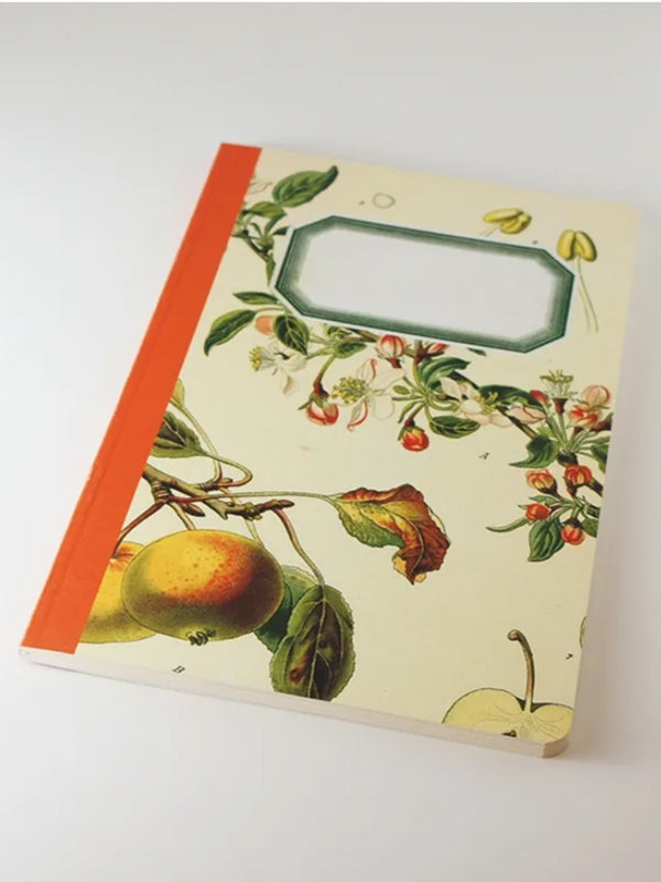 We Act Apple Botanical Notebook
