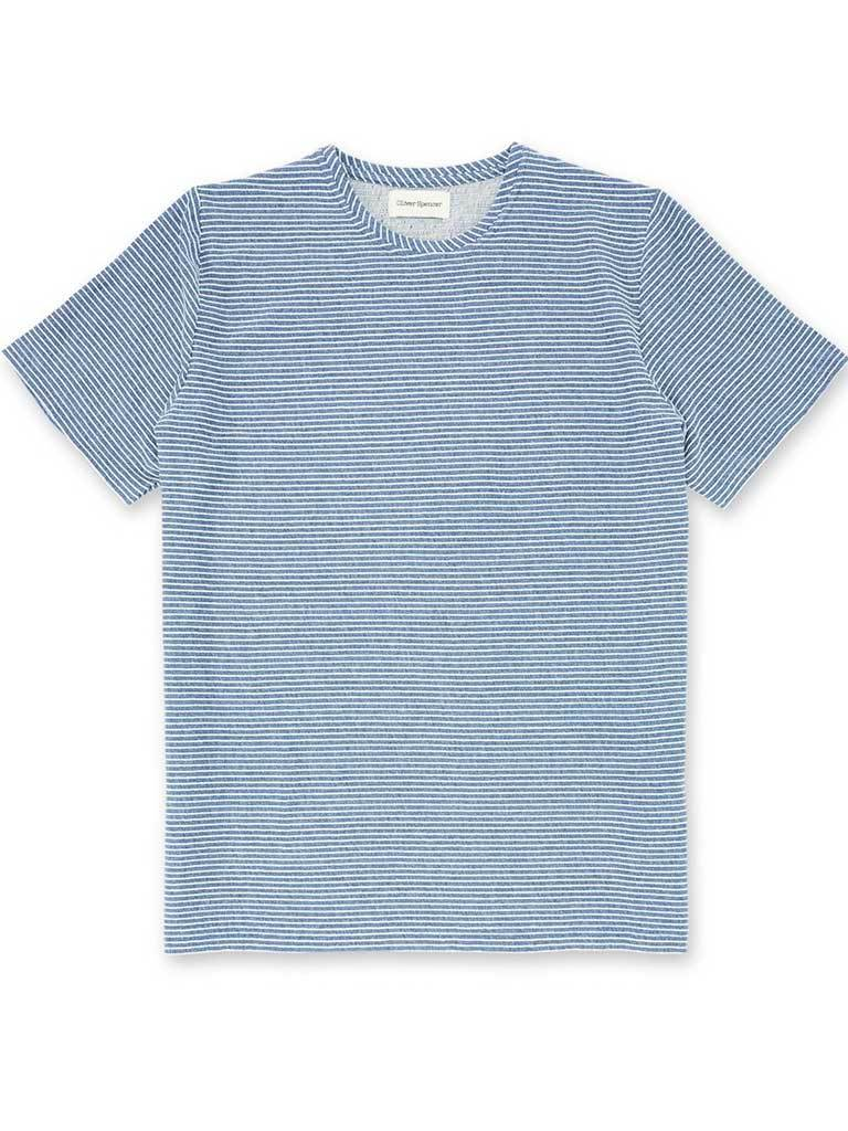 Oliver Spencer Conduit T-Shirt in Arman Blue