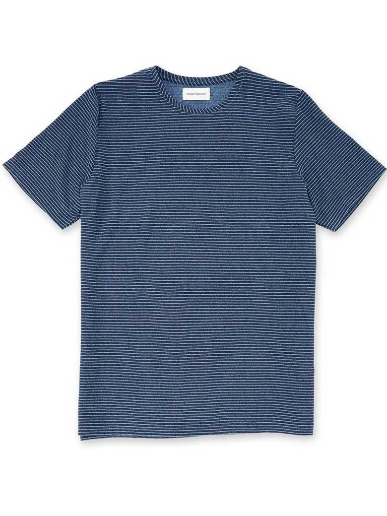 Oliver Spencer Conduit T-Shirt in Arman Navy
