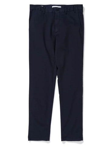 Aros Slim Light Stretch Chino in Dark Navy