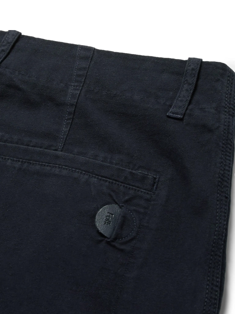 Folk Assembly Trousers in Navy
