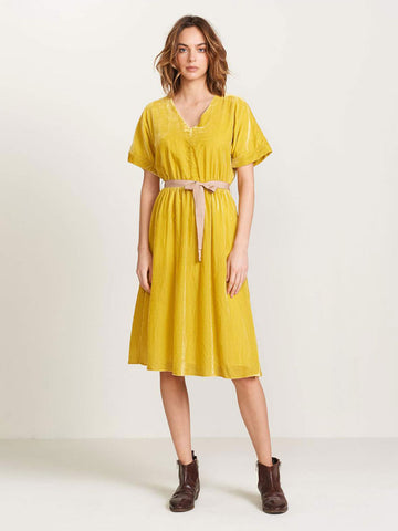 Bellerose Hoek Dress in Pollen