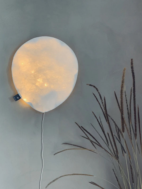 Large Balloon Light in White