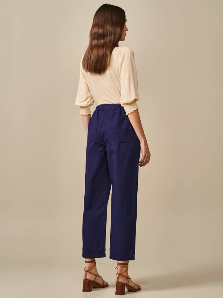 Bellerose Pasop Trouser in Worker Blue