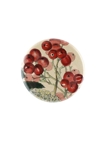 John Derian Mountain Ash Berries Pocket Mirror