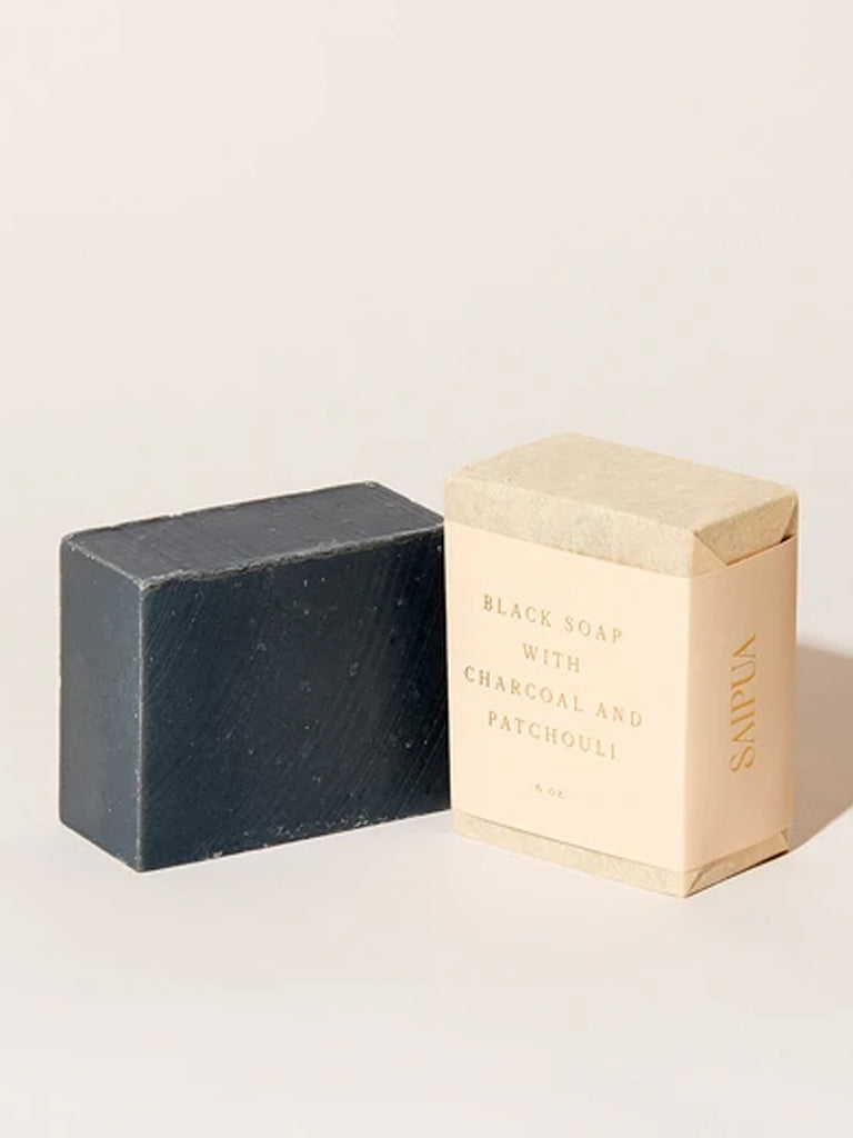 Saipua Black Soap Charcoal & Patchouli