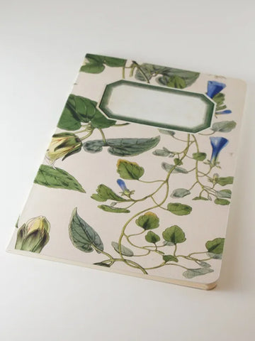 We Act Blue Ivy Botanical Notebook