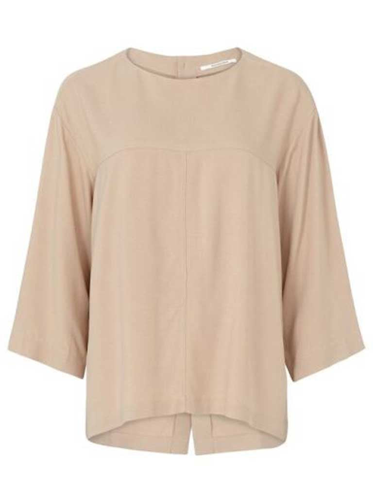 Pomandere blush blouse