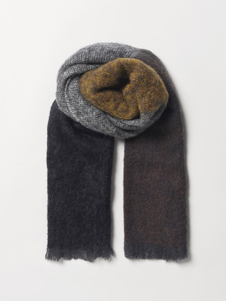 Becksondergaard Block Ingrid Scarf in Brownish