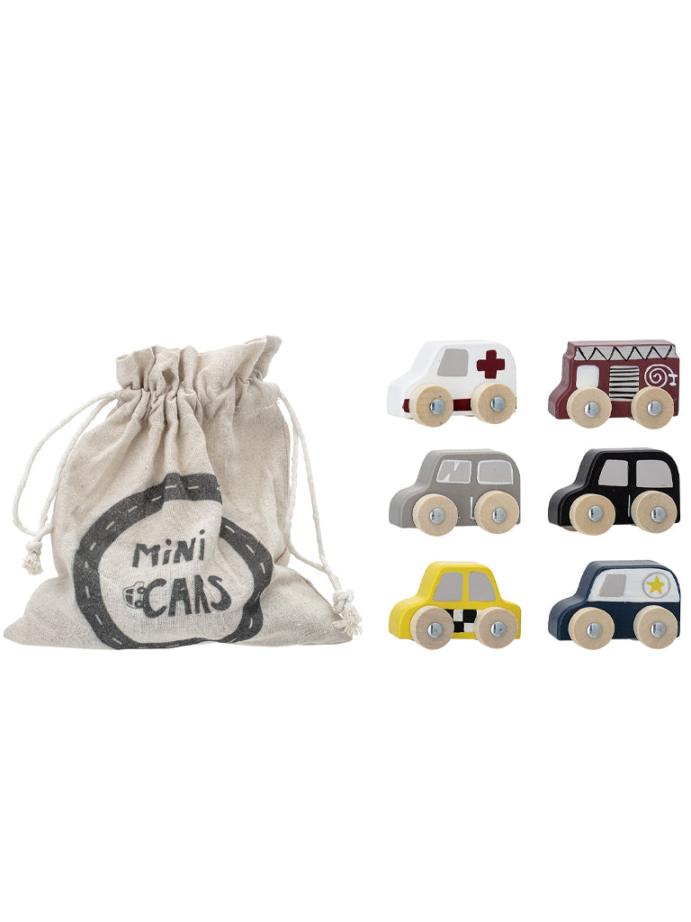Bloomingville Toy Car Set of 6