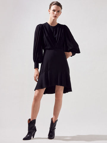 Suncoo Carlota Dress in Black
