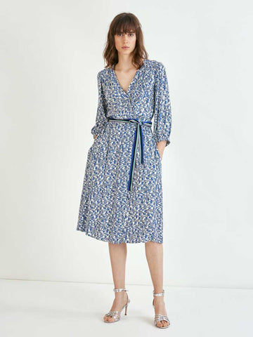 Suncoo Carmela Dress in Bleu Roi