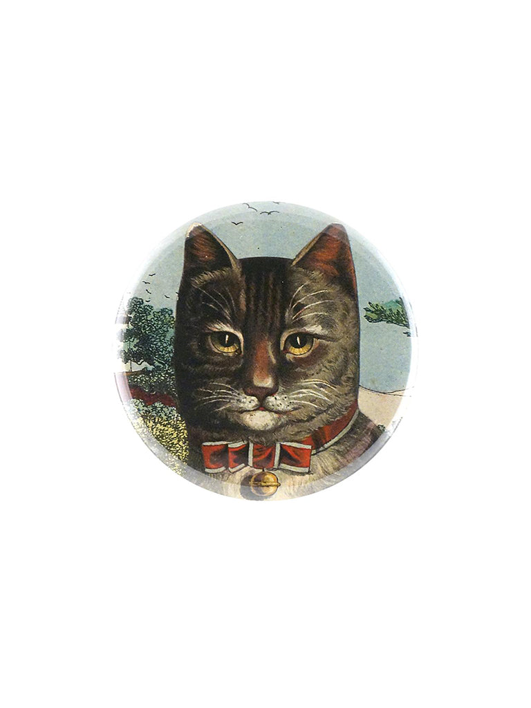 John Derian Country Cat Pocket Mirror