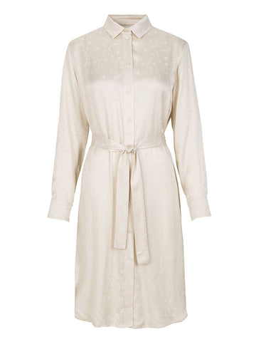 Samsoe & Samsoe Cissa Shirt Dress in Warm White