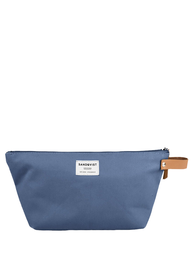 Sandqvist Cleo Wash Bag in Dusty Blue