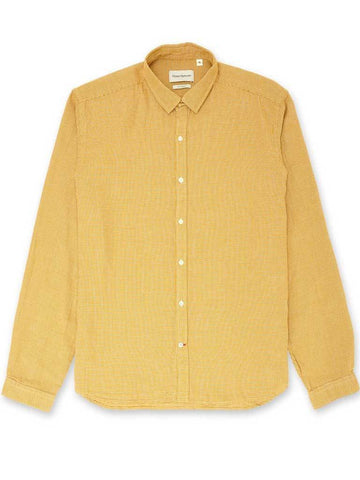 Oliver Spencer Clerkenwell Shirt in Pavilion Yellow