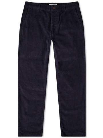 Universal Works Military Chino in Navy Cord