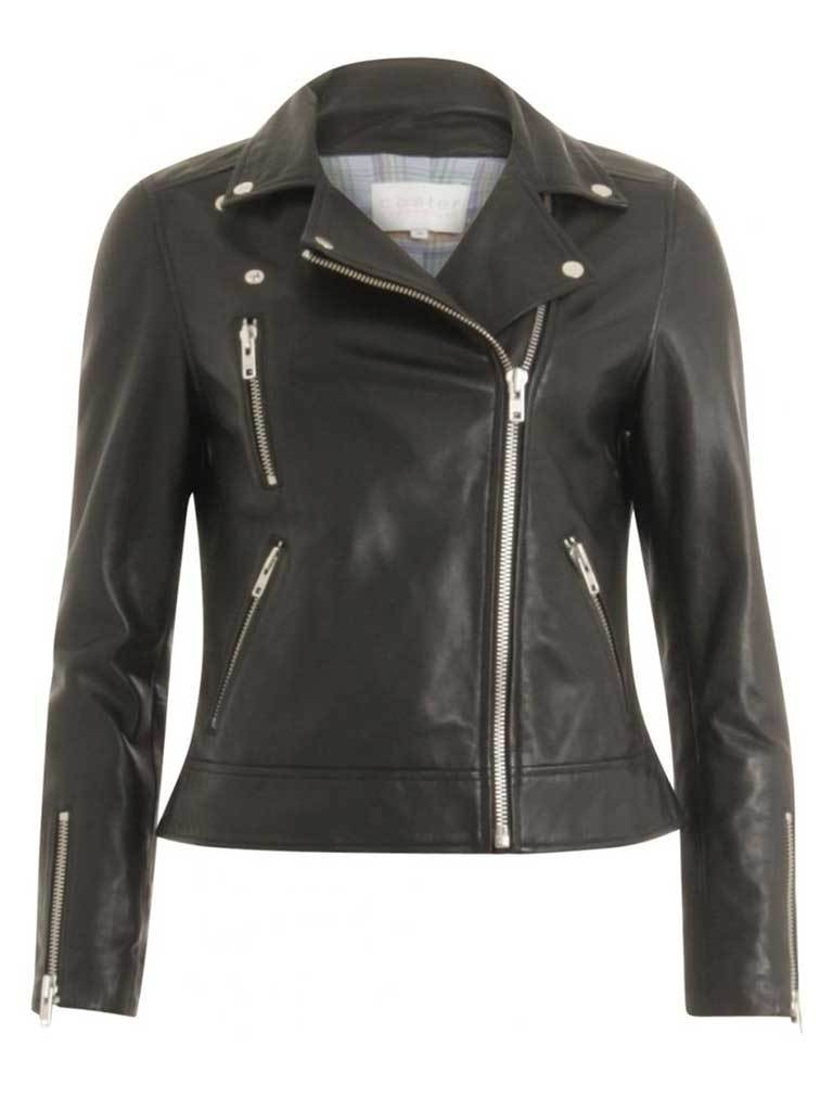 Coster Copenhagen Biker Jacket in Black