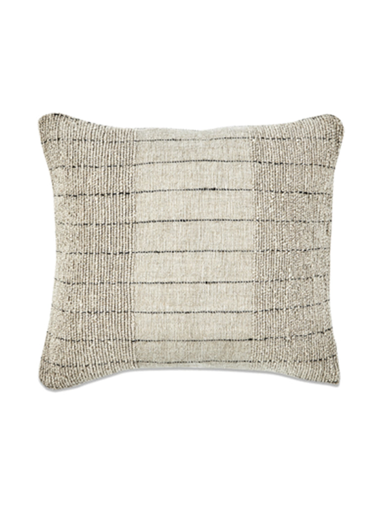 Nkuku Mayla Square Cushion in Natural