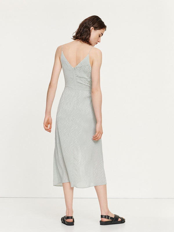 Samsoe Samsoe Dance Dress in Pale Pistachio