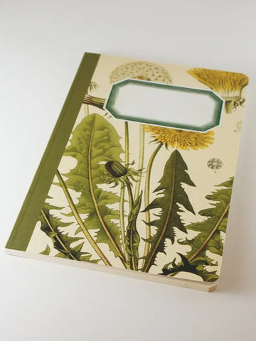 We Act Dandelion Botanical Notebook