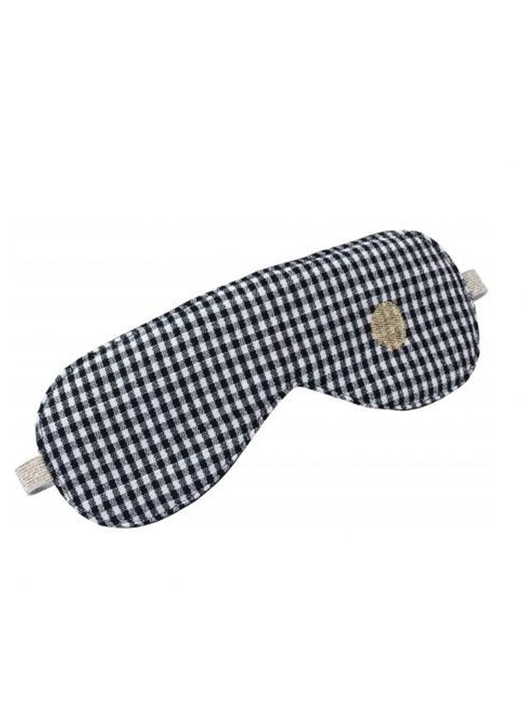La Cerise Sur Le Gateau Sleep Mask Finette in Ernest Caviar
