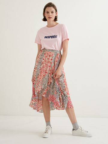 Suncoo Fanny Multicolour Skirt