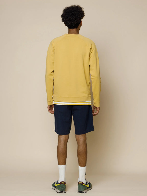 Folk Rivet Sweat in Ochre
