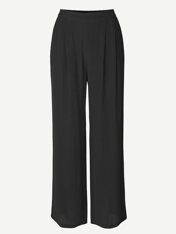 Samsoe Samsoe Ganda Trousers in Black