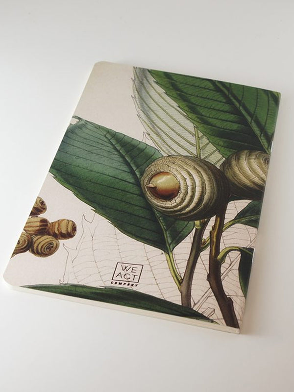 We Act Giant Acorn Botanical Notebook