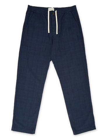 Oliver Spencer Drawstring Trouser in Hesketh Navy