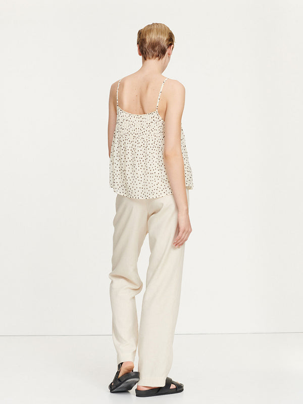 Samsoe Samsoe Hoys Trousers in Warm White