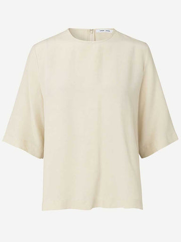Samsoe Samsoe Isabel Blouse in Warm White